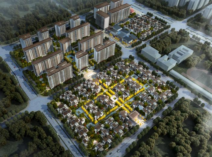 武侯新城157亩项目居住区建筑方案设计文本