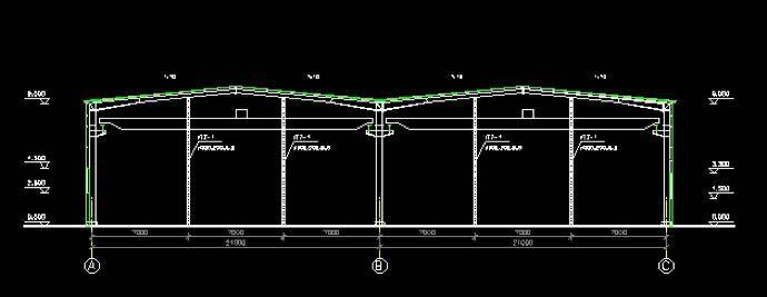 多坡多跨钢结构厂房怎么设计屋面排水?