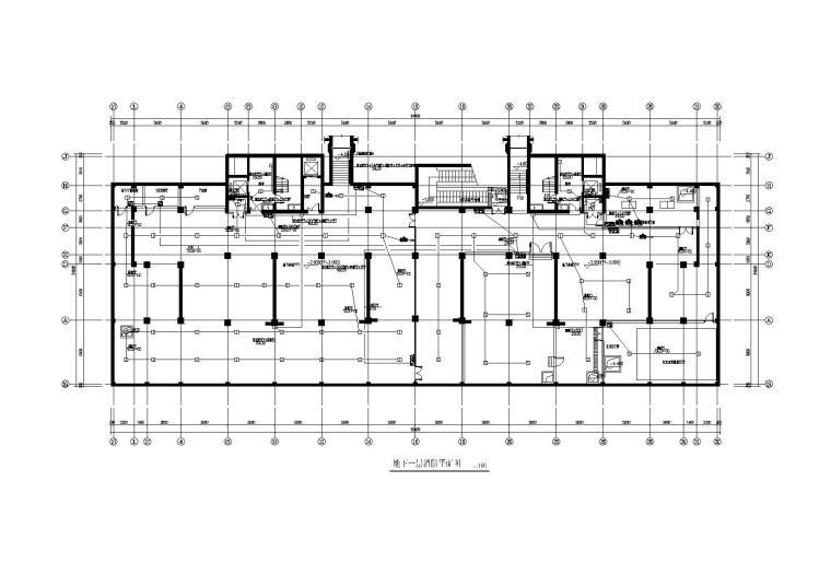 某商业电气施工图含强电与弱电设计2012