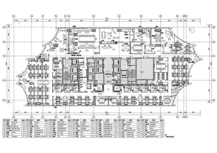 [北京]Gensler_众美集团总部办公室施工图