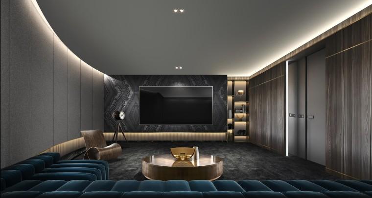 横琴智慧城三套复式样板房_设计方案+效果图