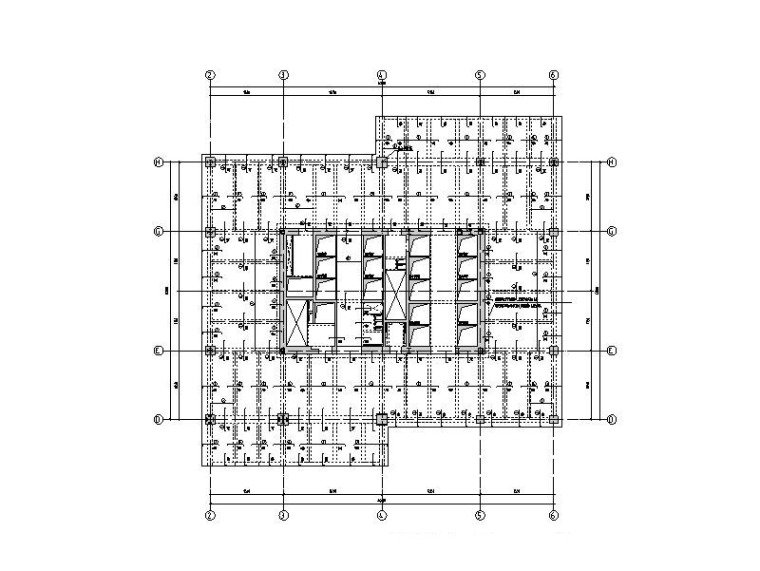 41层商业综合体核心筒-支托桁架结构施工图
