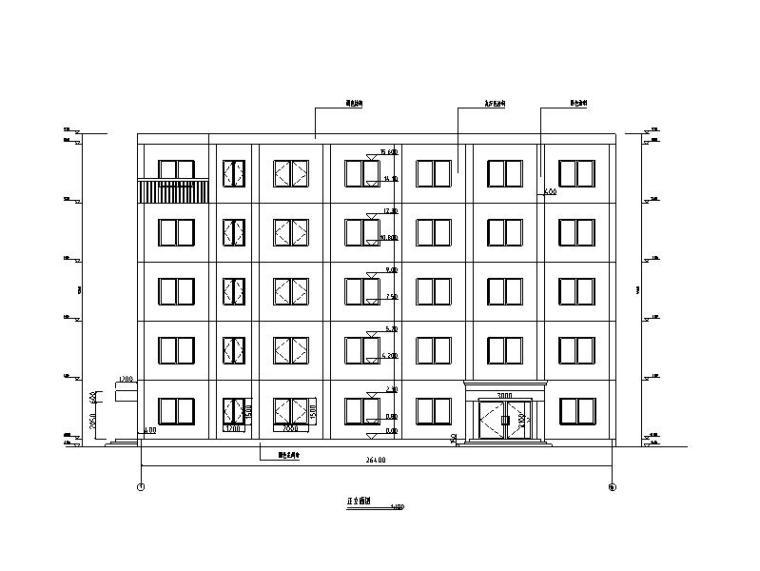 5层中学综合楼毕设资料_图纸/计算书等2013