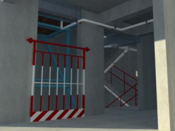 万科云城工序穿插施工工艺-楼层闭水引流