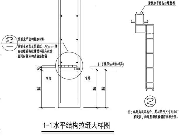 全现浇混凝土外墙抗震关键技术:结构拉缝!_17