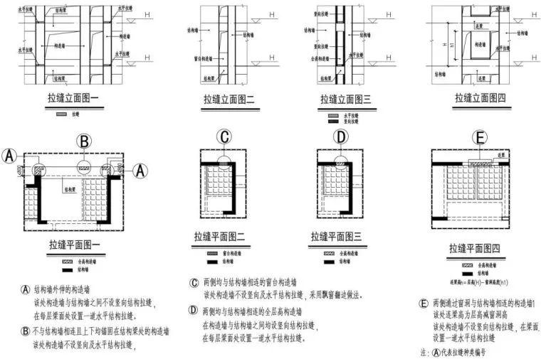 全现浇混凝土外墙抗震关键技术:结构拉缝!_14