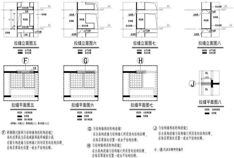 全现浇混凝土外墙抗震关键技术:结构拉缝!_15