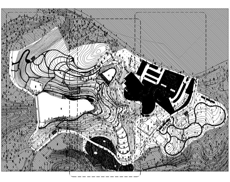 [重庆]旅游田园综合体全套施工图+方案+SU
