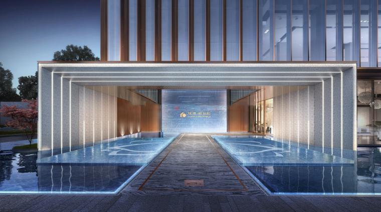 [江西]现代风格住宅示范区建筑模型设计
