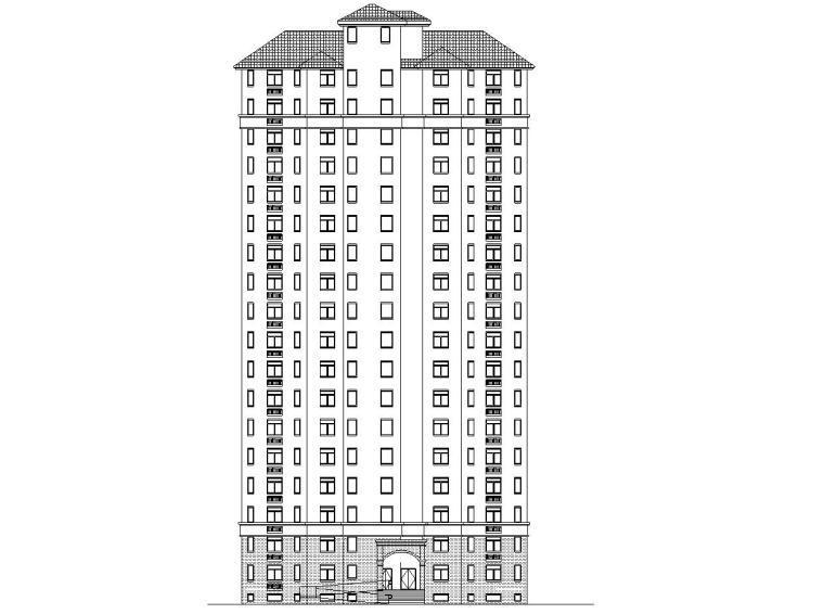 现代风安置房住宅建筑施工图(2019|4-7栋)