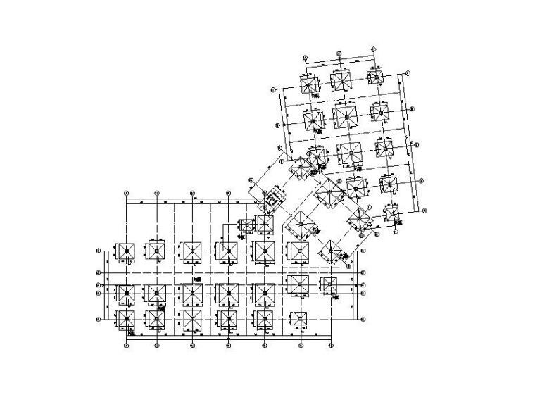 2层框架结构售楼处结构施工图2017(地上)