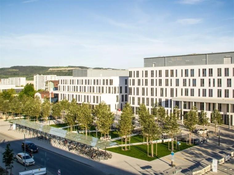 德国耶拿大学附属医院新院区景观