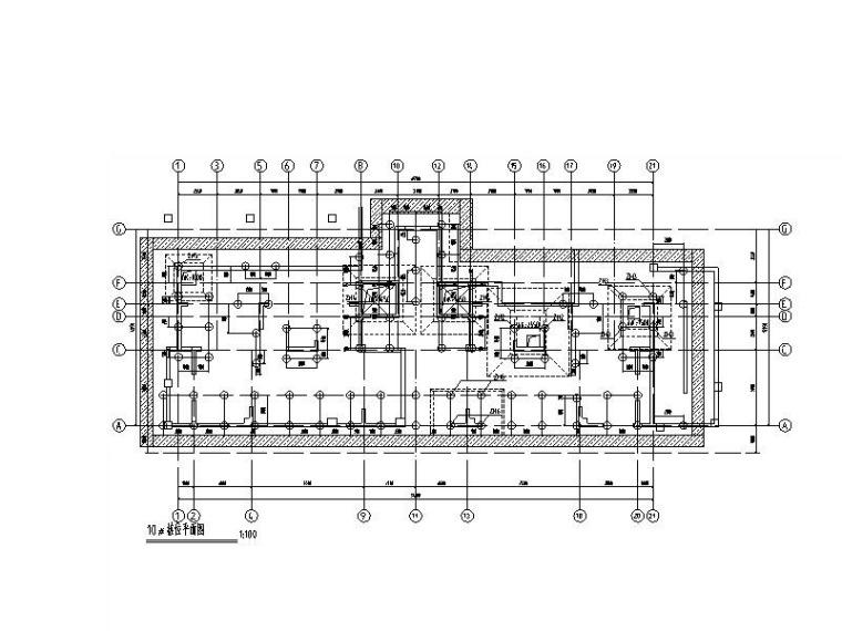 16/18层剪力墙结构住宅楼结构施工图2017