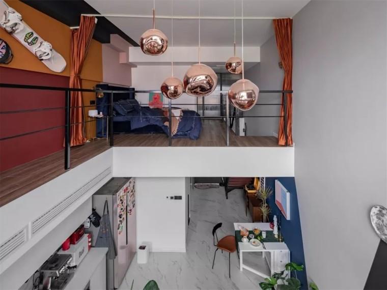 成都现代简约风格的居住空间