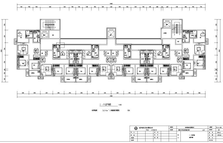 租赁型住宅及徕卡公园标文(含图纸)-3、建筑平面图