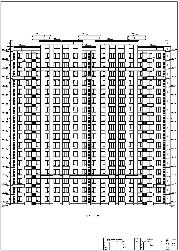 租赁型住宅及徕卡公园标文(含图纸)-4、立面图