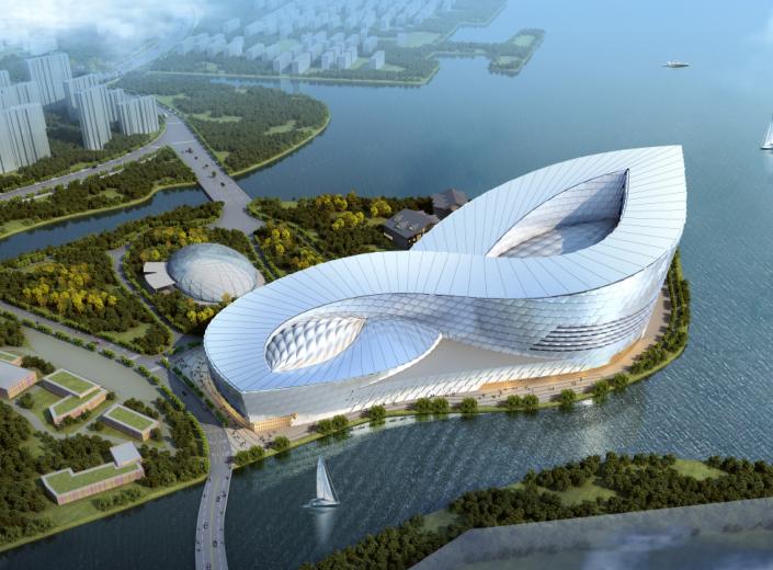 [天津]某大型生态型休闲文化体建筑方案文本