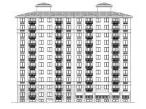 现代风安置房住宅建筑施工图(2019|11栋)