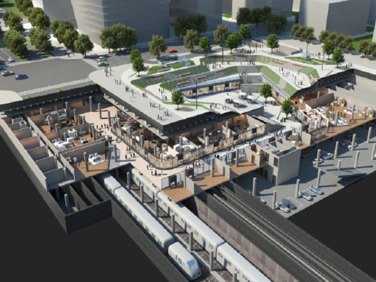 地下公共交通走廊工程深基坑内支撑施工方案