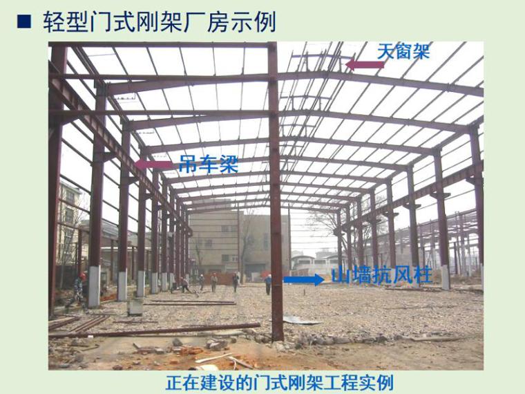 中、重型工业厂房钢结构设计(PPT,165页)