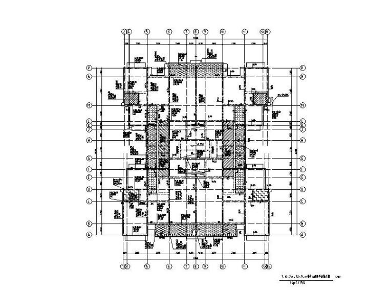 住宅+商业+幼儿园+地下室全套结构施工图