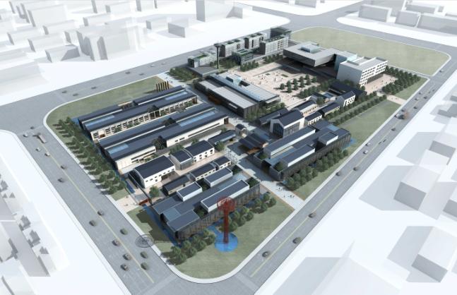 亳州市卷烟厂改造规划与建筑设计方案