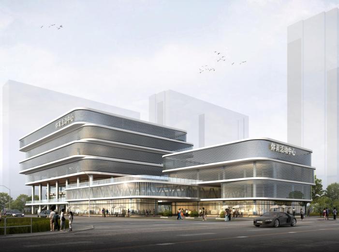 [安徽]合肥新站区体育中心建筑方案设计文本
