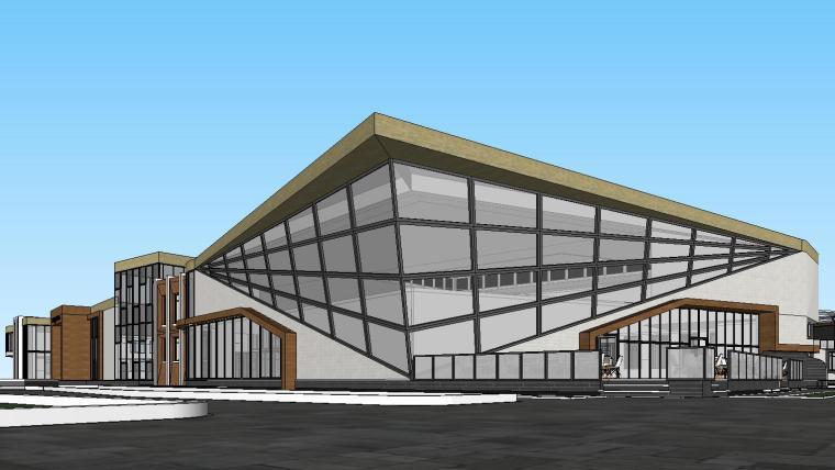 国外现代幼儿园方案建筑模型设计2019
