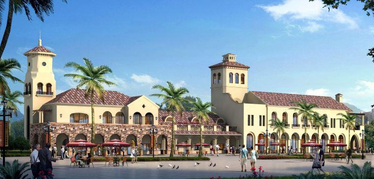大宸设计:文旅建筑设计案例·皇马小镇