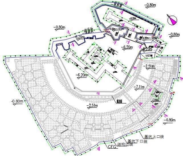 公园项目基坑工程第三方监测方案(2018年)