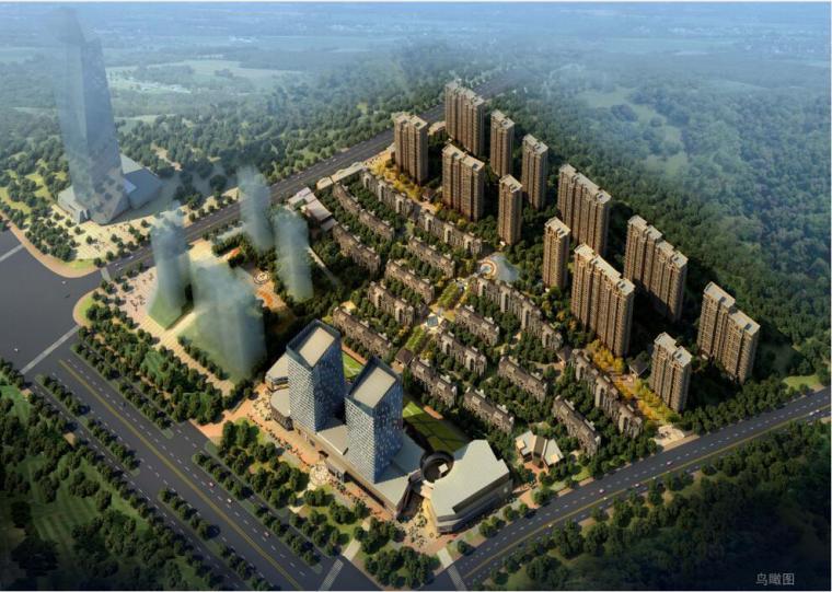 [江西]新都会风格住宅建筑设计方案
