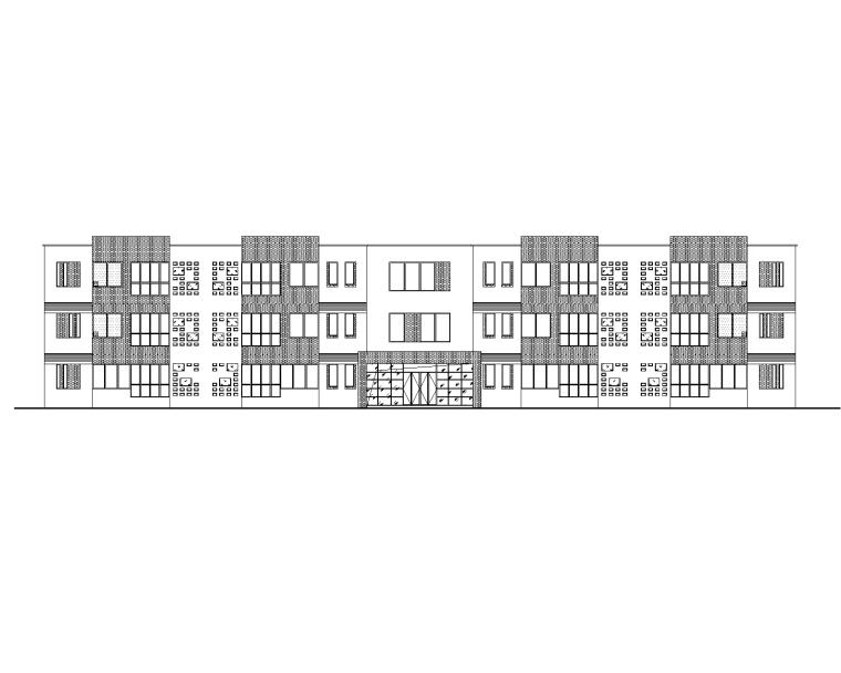 住宅+商业+幼儿园+地下室全套建筑施工图