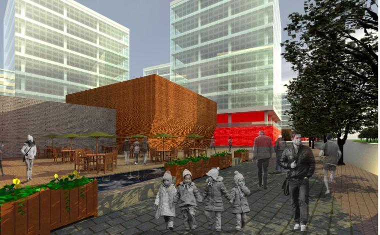 [上海]现代风格办公楼建筑方案设计