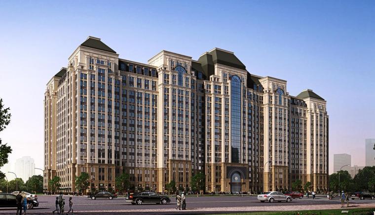[四川]铂朗郡住宅建筑规划设计