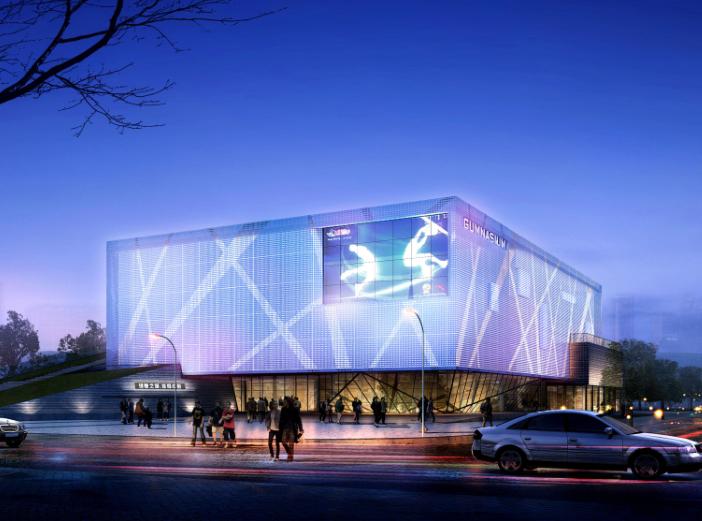 [山东]青岛理想之城体育中心建筑方案文本