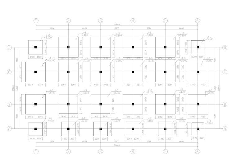 某饭店框架结构建筑施工图