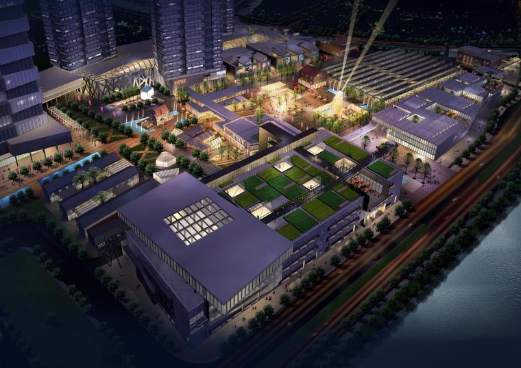 嘉业苏纶中城概念性方案设计