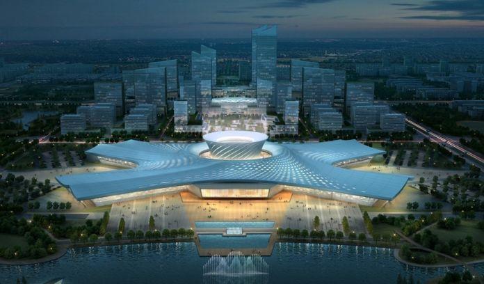钢结构赏析|德州国际会展中心结构设计
