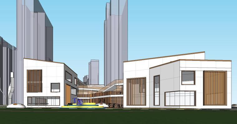 温州万科幼儿园建筑模型设计2019