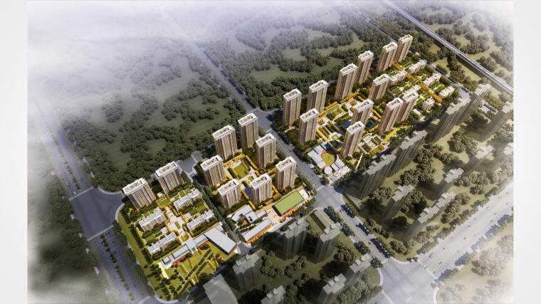 万科合肥长丰北城项目概念规划设计