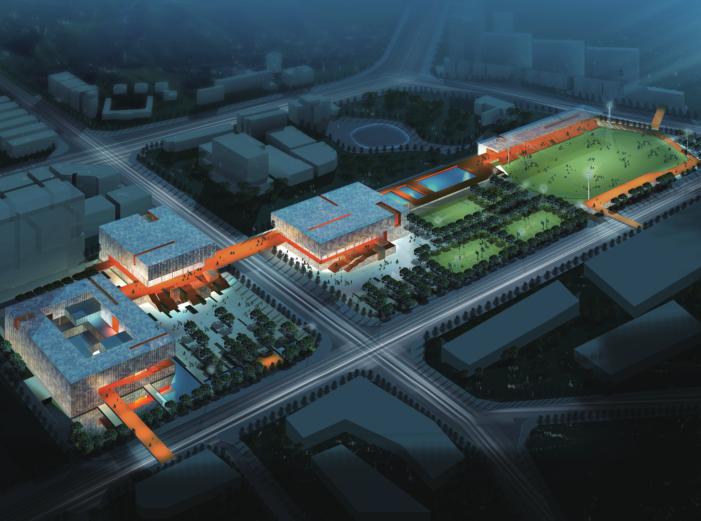 深圳市公明文化艺术和体育中心建筑方案文本