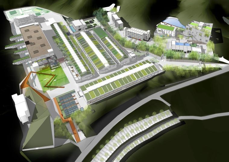 深圳葵涌印染厂改造整体概念设计方案文本