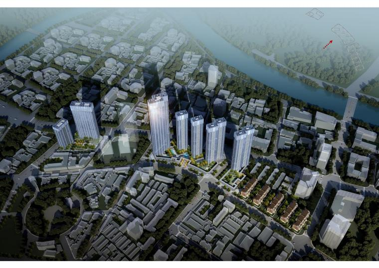 [天津]天房项目超高层住宅方案投标_华汇