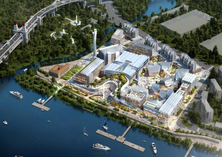 中冶集团南京和记洋行旧址规划及建筑方案