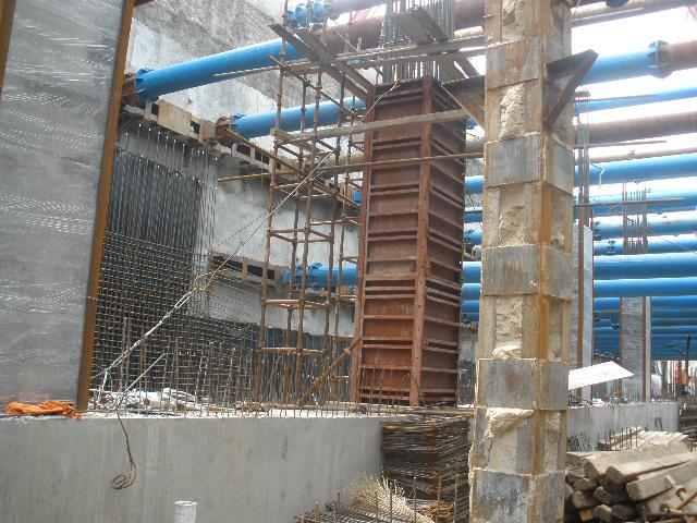 明挖地铁车站主体结构支模架专项施工方案