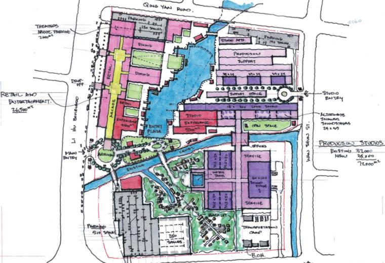 现代风格产业园建筑方案文本(PDF+48页)