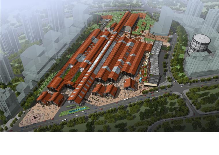 重庆工业文化博览园方案文本(旧厂房改造)