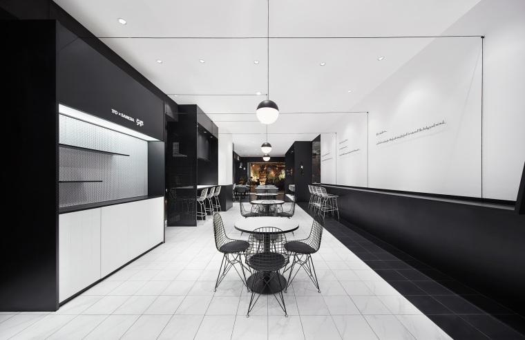 立品设计-广州尚门餐厅设计效果图+JPG平面