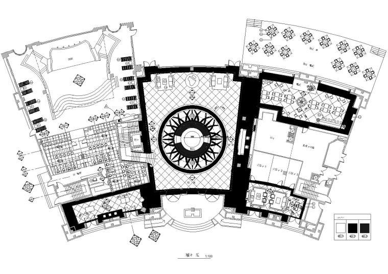 [上海]梁志天_康城会所室内装饰项目施工图