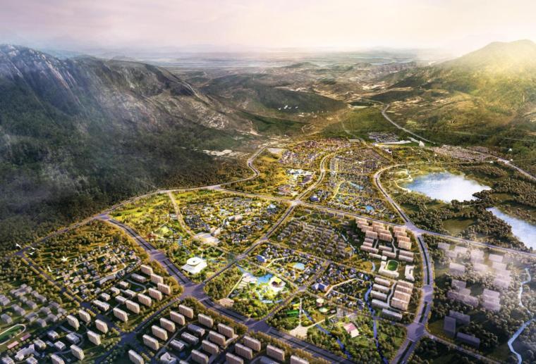 [河南]登封嵩山特色小镇项目概念规划设计